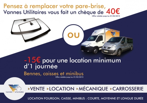 PROMOTION CARROSSERIE PARE-BRISE / LOCATION