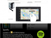 Kit GPS multifonctions - Parrot ASTEROID Smart